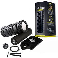 Foam Roller Bundle Set Deep Tissue Muscle Massager For Yoga Pilates Sports UK