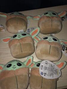 "Disney Star Wars Baby Yoda The Child Squishmallow Squishmallows 5"" Soft Plush"