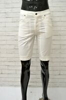 Bermuda Bianco Uomo JECKERSON Comfort Taglia Size 42 Short Man Pantalone Corto