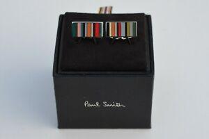 PAUL SMITH Multistripe cufflinks signature stripe striped cuff links