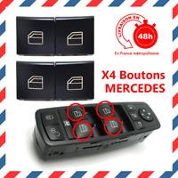 4 Pcs Bouton lève vitre gauche et droit MERCEDES Classe A W169 Classe B W245