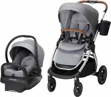 Maxi Cosi Adorra Travel System Nomad Grey Stroller & Mico MAX 30 New! Open Box!