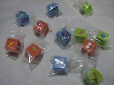 Trash pack  picture dices pack of 12 party bag fillers