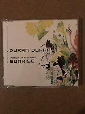 Duran Duran Sunrise 2 Track UK CD EX Condition. Free Ship!  675353 1
