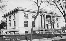 Real Photo Postcard Library in Mason City, Iowa~121296