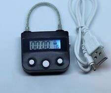 Electronic Timer Padlock Use With Luggage Security Lock UK  Digital usb charger