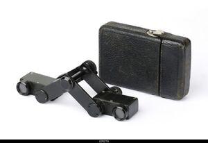 * Carl Zeiss Jena Binoculars Stenor 5x With Orginal casse
