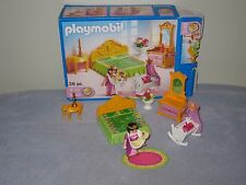 Playmobil 5146 Princess Mother & Baby Bedroom Playset  used  2 pieces missing