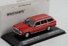Mercedes-Benz  230 TE W123 Kombi rot 1982 diecast 1:43 Minichamps Maxichamps