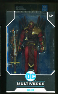 McFarlane / DC COLLECTOR WHITE KNIGHT AZRAEL 7IN Action Figure