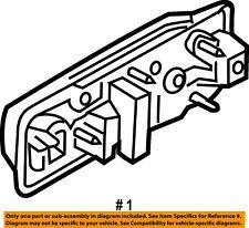 FORD OEM 15-18 F-150 Rear Door-Handle Outside Exterior Left FL3Z1626605CCPTM