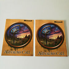 Asheron's Call Big Box PC Game Manual & Keyboard Control Guide *No Game*