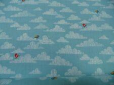 "tela patchwork de Tela ""Jungle Birds On Cloud "" - All Over 50 x 110cm 100% BW"