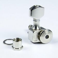 Sperzel Trim-Lok Back Locking Tuners/machine heads, 6inline Nickel, Trimlock