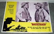 LAREDO/BACKTRACK 11x14 NEVILLE BRAND/DOUG MCCLURE original movie lobby card