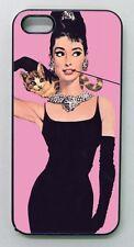 "Cover ""AUDREY HEPBURN - COLAZIONE DA TIFFANY"" per iPhone 4, 4s, 5, 5s, 5c, 6"