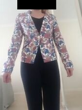 Unbranded V-Neckline Floral Coats & Jackets for Women