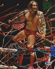 Jiro Kuroshio Signed 8x10 Photo BAS Beckett COA Wrestle-1 Japan Pro Wrestling 98