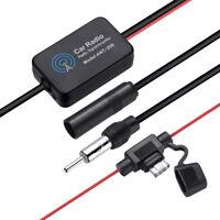 Antenna Auto FM&AM 12V Booster Radio Universale Stereo Amplificatore di Segnale
