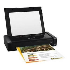 Epson WorkForce WF-100 A4 Wireless Mobile Colour Inkjet Printer