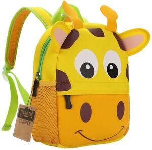 Children's Backpack, TEAMEN® Toddler Kids School Bag, Animal Design, Kinder Rack