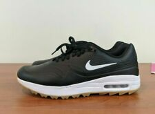 Nike Air Max 1 G Men's Golf Shoes Black White Gum AQ0863-001 Size 8 10.5 14