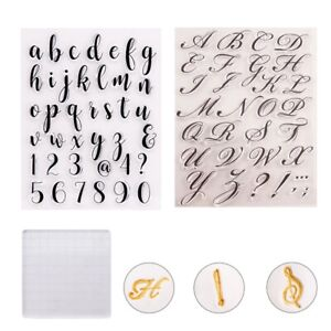 Alphabet Fondant Cookie Stamp Mold Letters Biscuit Fondant Mold Set Baking Tools