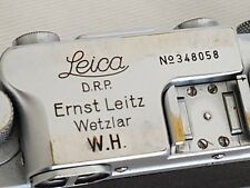 Leica IIIb 1939-40 #348058 WH W.H. Wehrmacht Heer ORIGINAL rare genuine Military