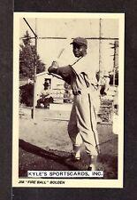 1992 RETORT  Jim Bolden  NEGRO LEAGUE  UNSIGNED 3-1/2 x 5-1/2  PHOTO POSTCARD #1