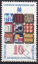 DDR Mi.-Nr. 1494 gestempelt 10 Pf. Leipziger Frühjahrsmesse 1969