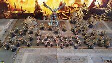Warhammer 40k Choas muerte Protector Ejército, mortarion, tifus, hecho a pedido