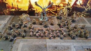 Warhammer 40k chaos death guard army,  made to order