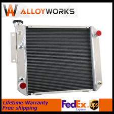 Fits Hyster Yale Forklift H25xm H35xm S25 35xm S60es 3 Row Aluminum Radiator