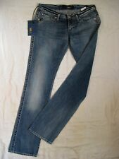 TAKE TWO New View Blue Jeans Denim W31/L36 x-low waist regular fit straight