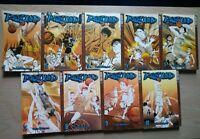 Rebound 1-5, 7-10, Lot of 9 Shonen Manga, English, 7+, Yuriko Nishiyama