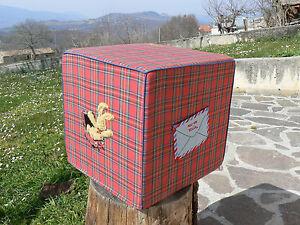 NUOVO Die Spiegelburg Pouf Cubo Felix World sfoderabile
