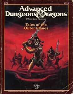 OP1 TALES OF THE OUTER PLANES VGC! #9925 AD&D Module D&D TSR Dungeons Dragons