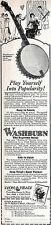 Washburn Style A Tenor Banjo LYON HEALY Play Yourself Into Popularity 1924 Ad