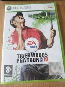 Tiger Woods PGA Tour 10 Xbox 360 game. NEW AND SEALED PAL UK. ULTRA RARE