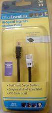 HI SPEED INTERNET MODEM CABLE~~RJ11 PLUG/BT PLUG