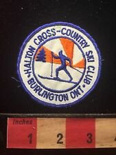 HALTON CROSS-COUNTRY SKI CLUB Souvenir CANADA Patch ~ Ontario 68F2