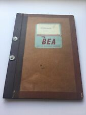 BRITISH EUROPEAN AIRWAYS B.E.A. HERMES IV ELECTRICAL System Notes VERY RARE