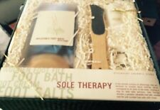 NIB SOLE THERAPY Inflatable Foot Bath & Foot Cream Discovery Channel Store