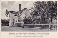 uralte AK, Restaurant und Kaffee Schleif, Reichenbach b. Hohenstein-Ernstthal