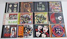 12 KISS CD Lot Hotter Than Hell Dynasty Elder TellTales Bad Boys Psycho Circus +