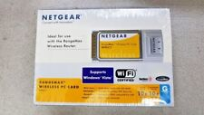 Netgear RangeMax WPN511 Wireless PC Card CardBus PCMCIA
