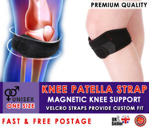 Knee Patella Support Strap Compression Brace Magnets Sore Tendinitis Pain Relief