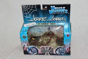 Jesse James 1:18 Scale Die Cast Muscle Machines El Diablo Rigid Motorcycle 71121