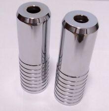 New Schwinn XS Ribbed Axle Pegs Steel 14mm