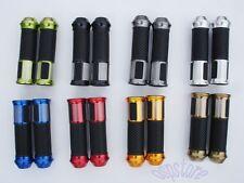 """7/8"""" Handle Bar Hand Grips For Kawasaki Ninja 250R 600R ZX6R ZX7R ZX10 ZX11 22mm"""